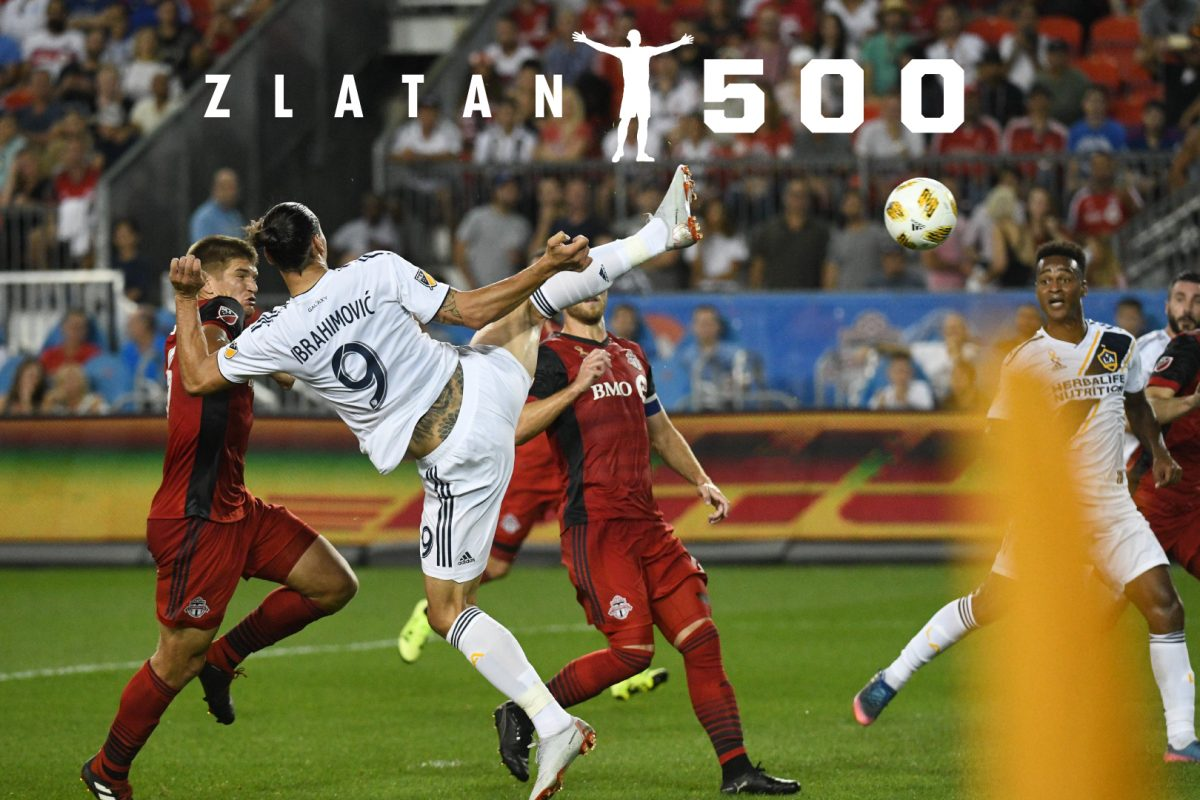 Zlatan llegó a su gol número 500, y de qué manera!