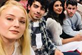 Los Jonas Brothers sorprendieron en el US Open junto a sus novias