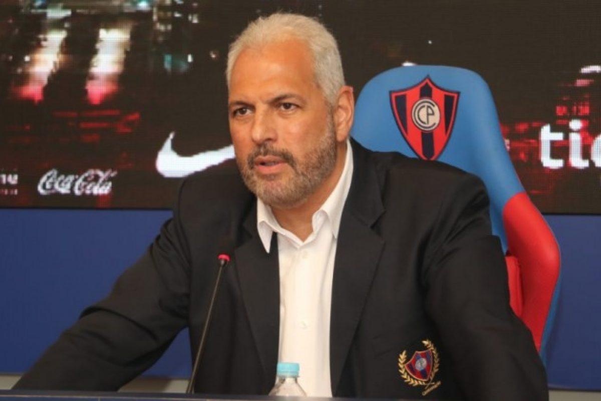 Juan José Zapag confirmó que dejará de ser el presidente de Cerro Porteño