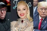 Michael Moore asegura que Gwen Stefani fue la razón por la que Donald Trump se candidató a la presidencia
