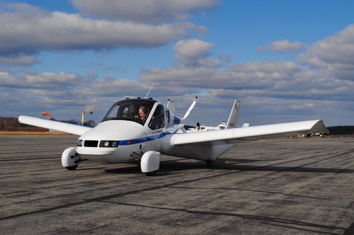 El primer auto volador del mundo comenzará a venderse en octubre
