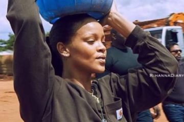 Rihanna ayudó a construir un hospital en Malawi