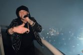 Mirá la increíble presentación de Eminem desde lo alto del Empire State Building