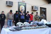 """""""Nos interesa destruir las organizaciones criminales"""", afirma ministro de SENAD"""