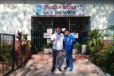 Nelson Cuevas inaugura la primera biblioteca futbolera del país