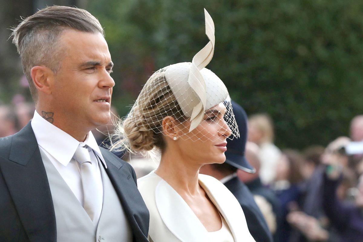 Robbie Williams y otras celebridades asistieron a la boda real de la princesa Eugenie y Jack Brooksbank
