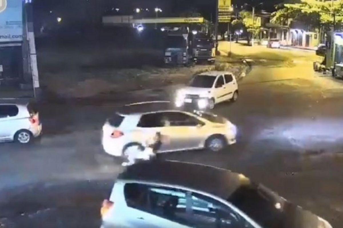 Identificaron a la mujer que arrolló y abandonó a una joven en Lambaré
