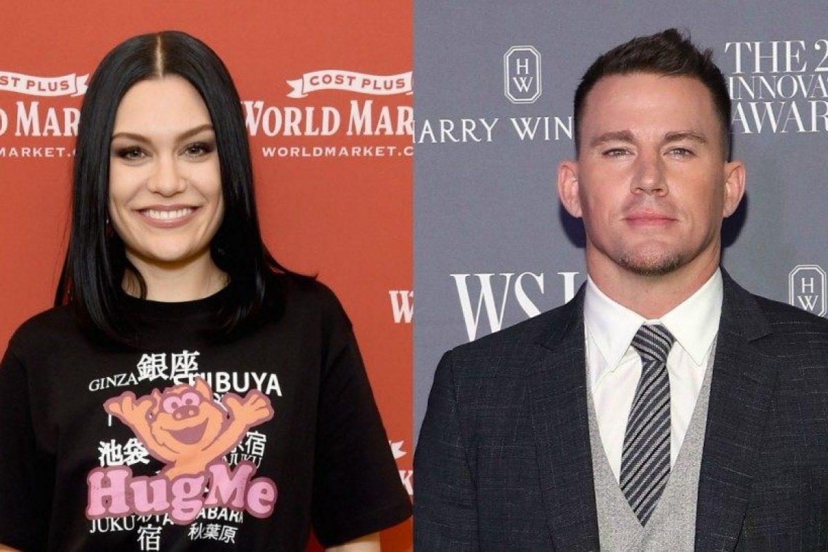 Channing Tatum confirmó su relación con Jessie J