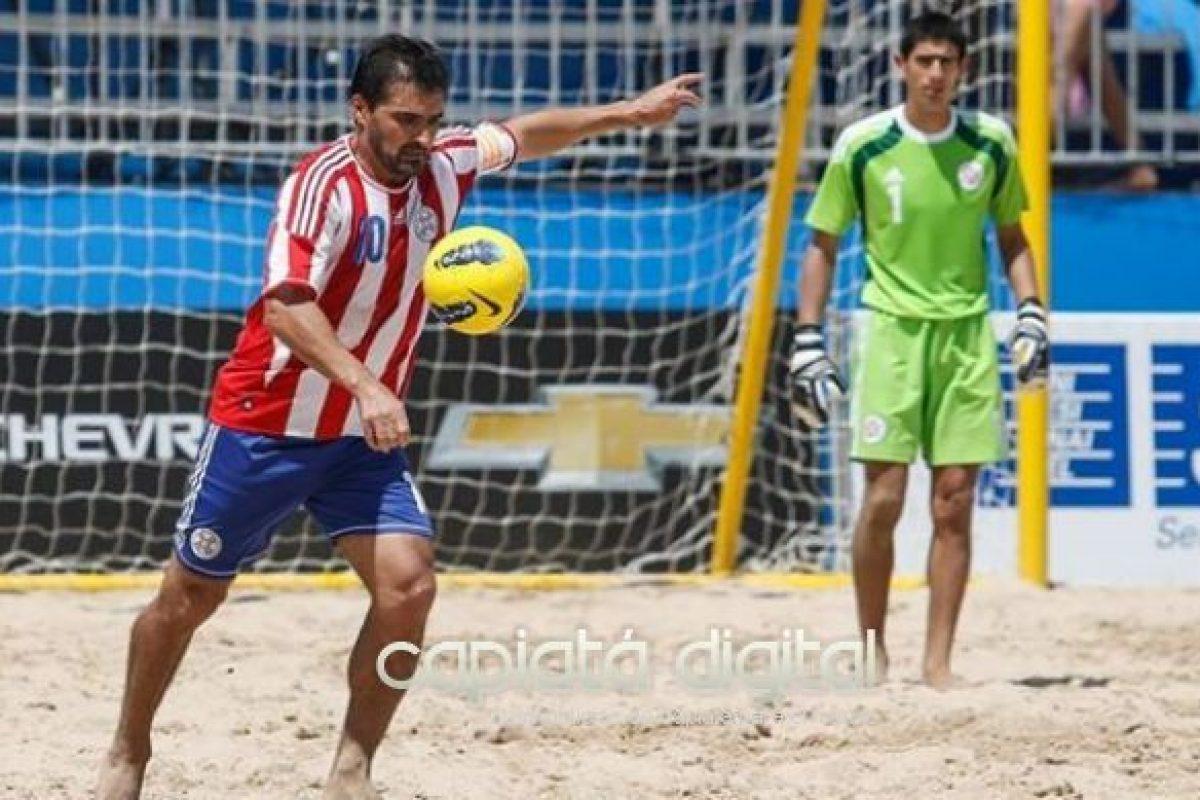 Paraguay, séptimo en ranking mundial de Fútbol de Playa