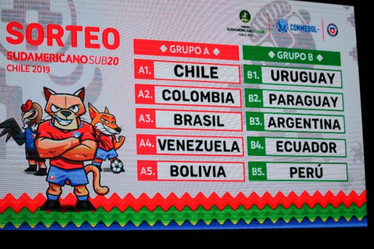 Paraguay ya conoce a sus rivales en Sudamericano Sub 20