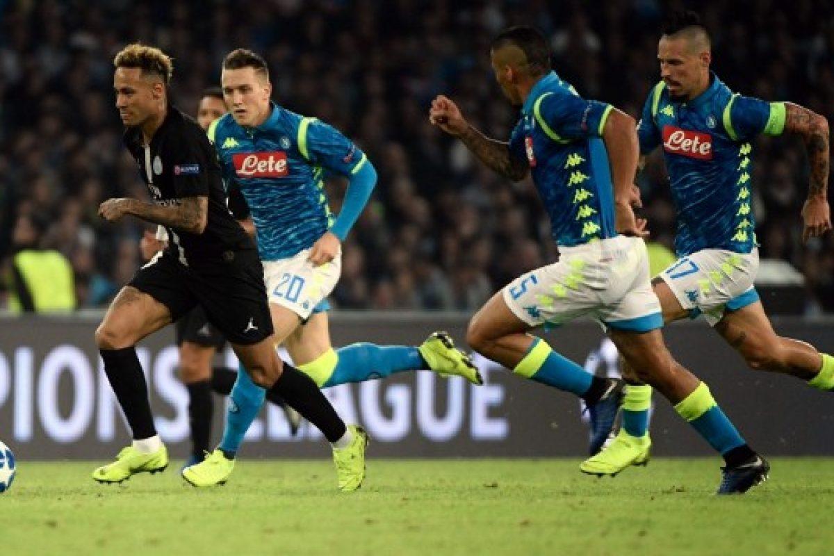 PSG y Nápoli empataron y aprietan el grupo C de la Champions
