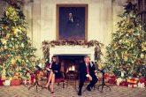 Donald Trump como ayudante de Santa