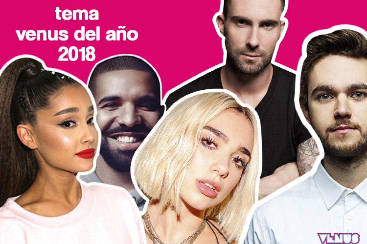 VOTÁ POR EL TEMA VENUS DEL AÑO 2018