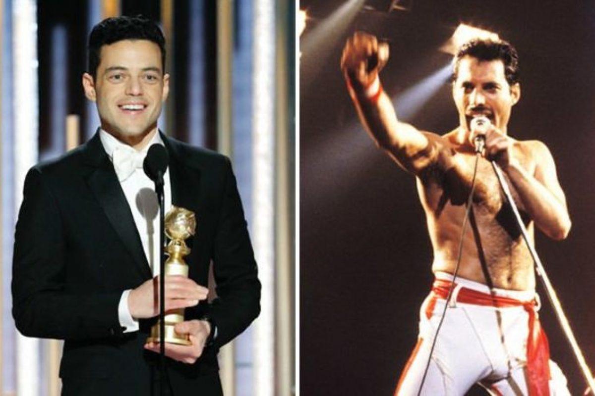 """Rami Malek se llevó el Golden Globe como """"Mejor Actor"""" por su interpretación de Freddie Mercury"""