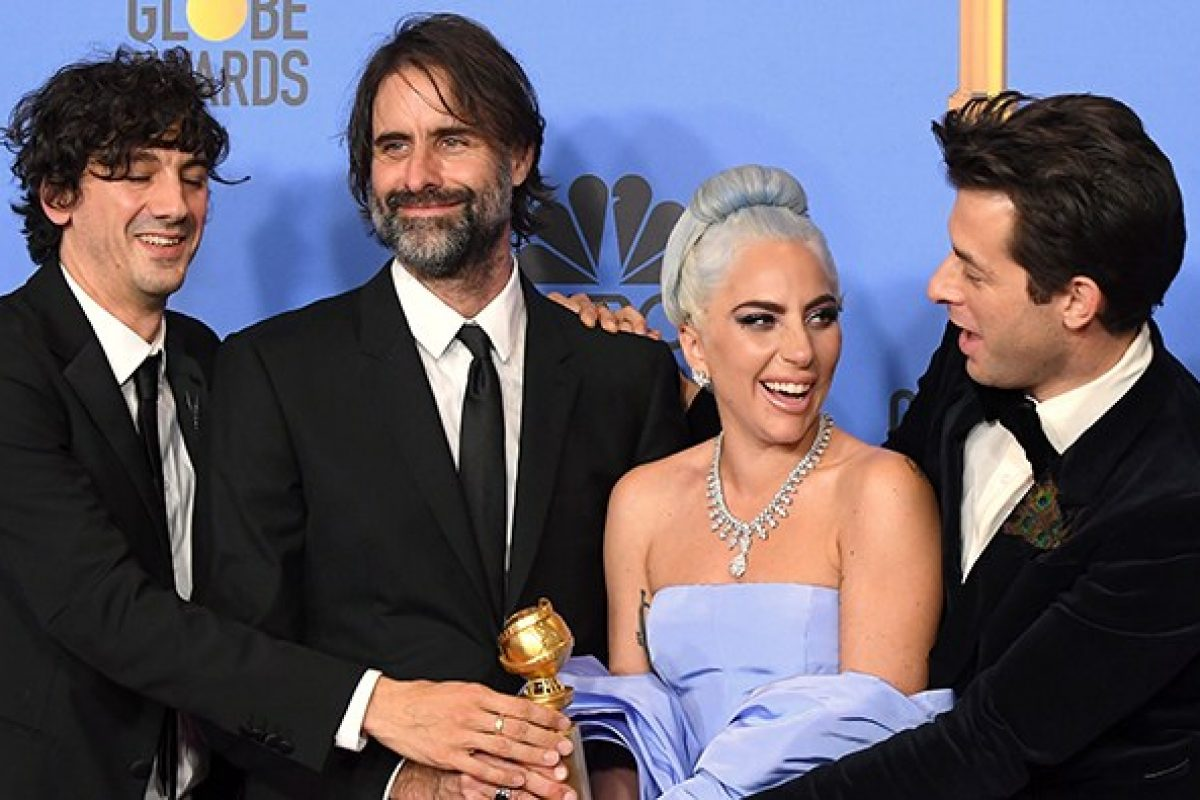 "Lady Gaga ganó el Golden Globe a ""Mejor Canción Original"" por ""Shallow"", perteneciente al soundtrack de ""A Star Is Born"""