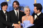 """Lady Gaga ganó el Golden Globe a """"Mejor Canción Original"""" por """"Shallow"""", perteneciente al soundtrack de """"A Star Is Born"""""""