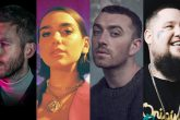 Calvin Harris, Dua Lipa, Sam Smith y Rag'n' Bone Man compartirán escenario en los BRIT Awards