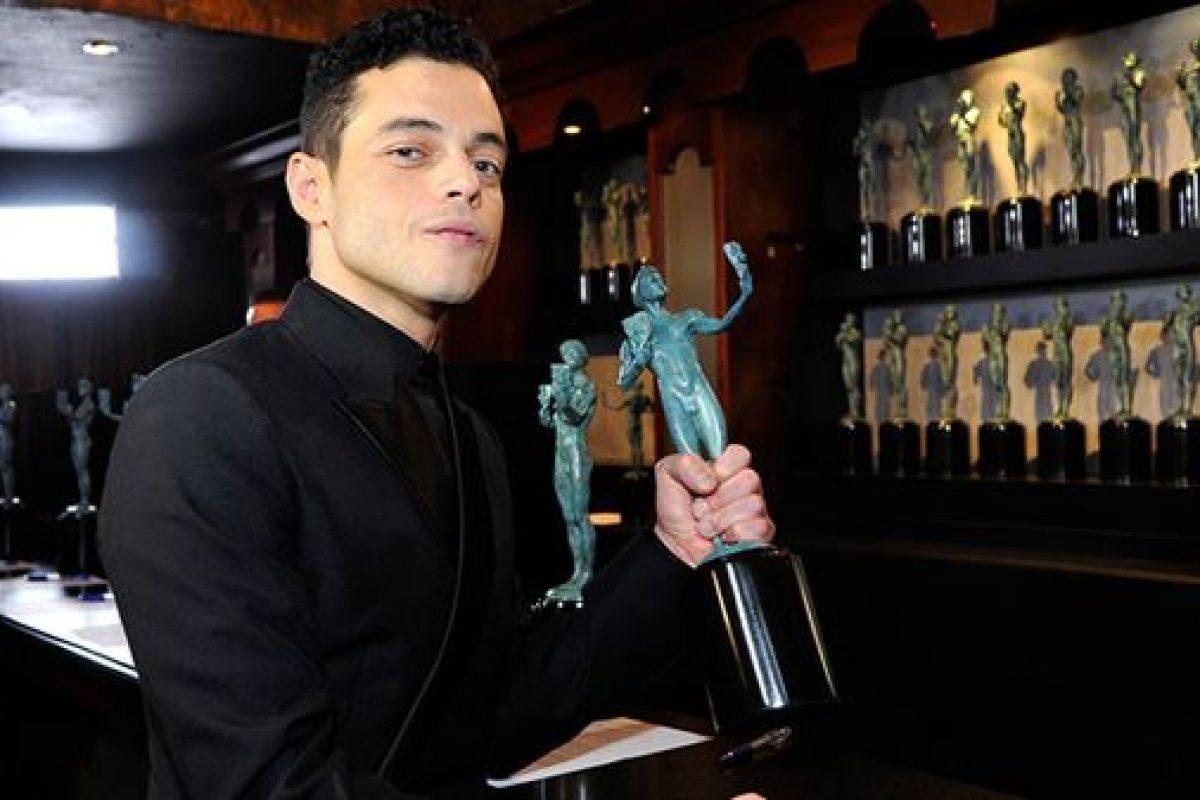 Rami Malek se llevó el SAG Award por su interpretación de Freddie Mercury