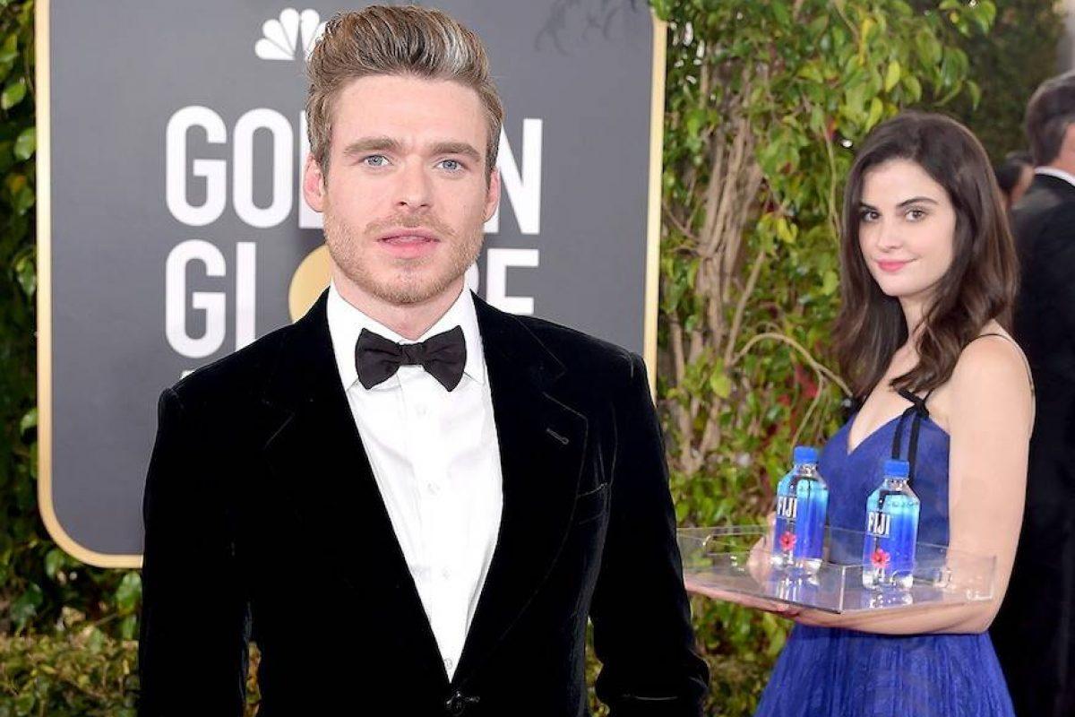 "Golden Globes 2019: la ""chica del agua"" que se volvió viral por opacar a las celebridades"