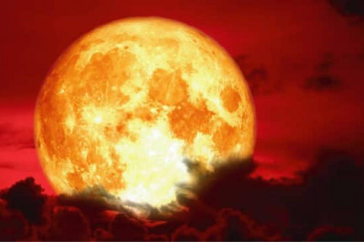 Primera luna llena del 2019 coincide con un eclipse lunar llamado ¨super luna sangre de lobo¨