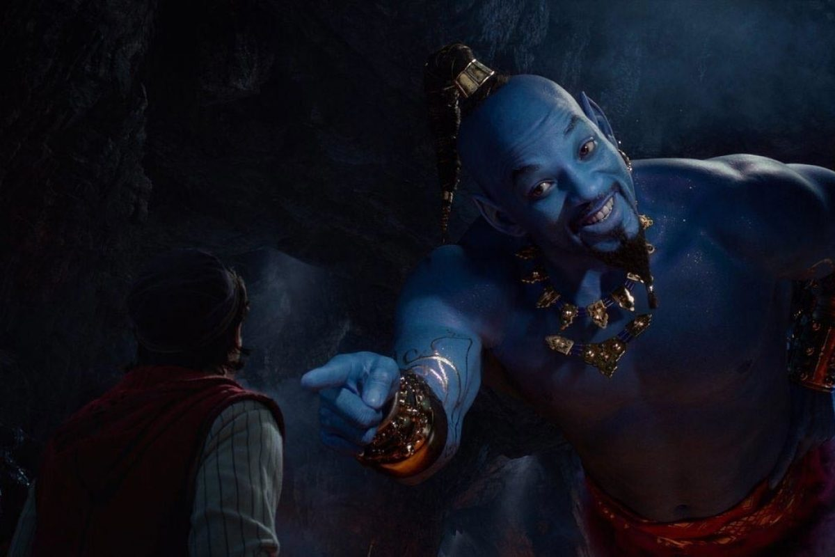 """Will Smith es el genio azul en el nuevo trailer de """"Aladdin"""""""
