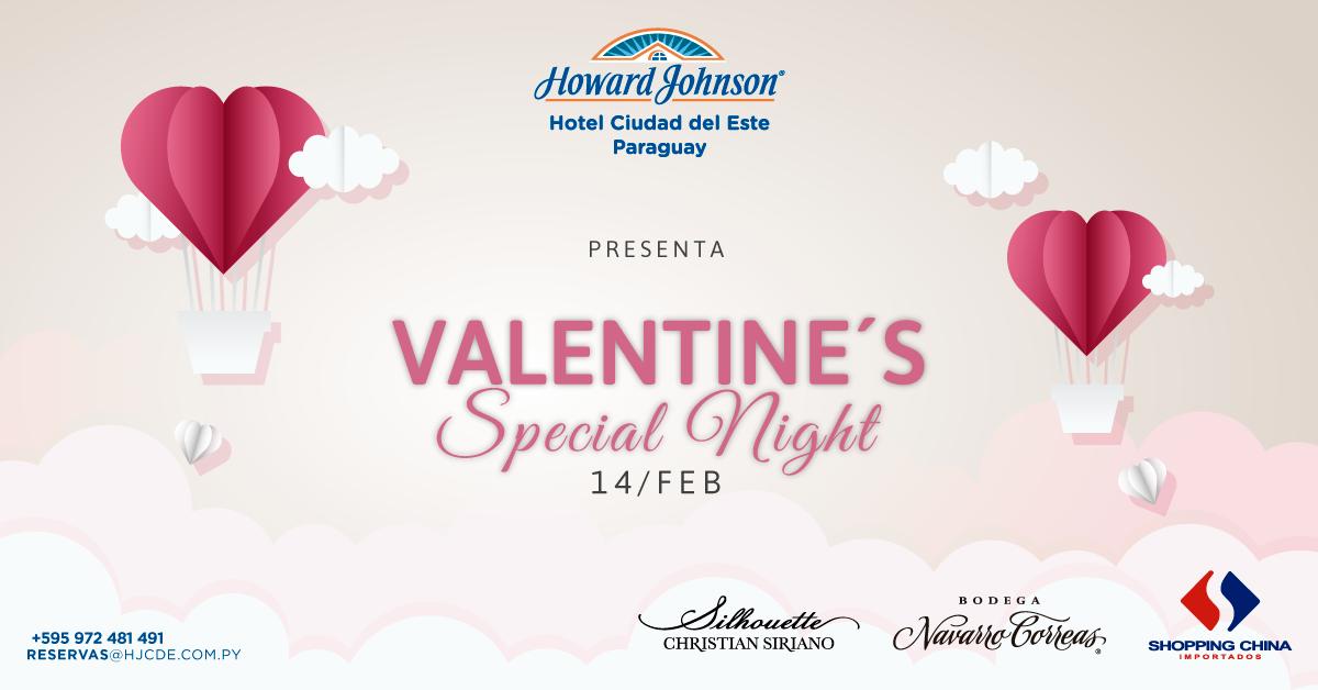 Valentine Special Night – Howard Johnson CDE