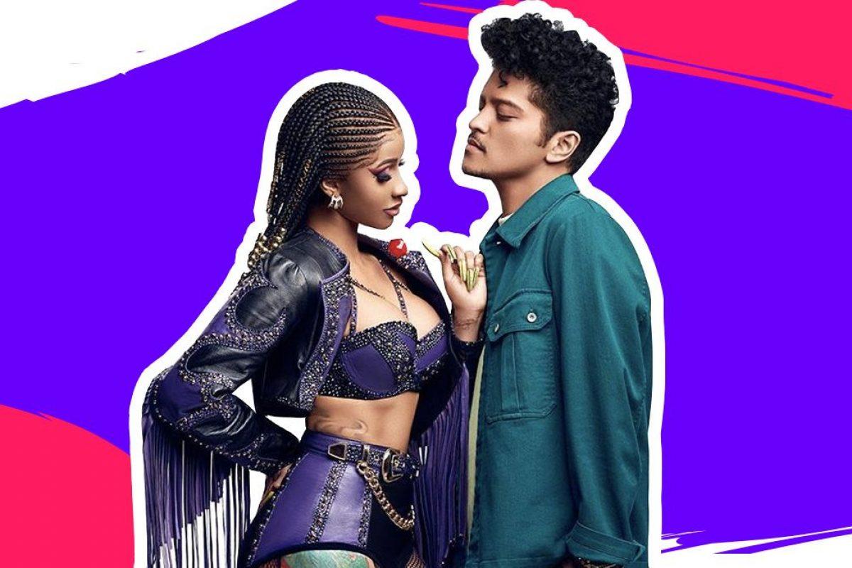 """Escuchá """"Please me"""", lo nuevo de Bruno Mars y Cardi B"""