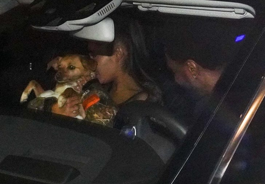 Screenshot_2019-02-28 Ariana Grande and Big Sean Reunite in L A