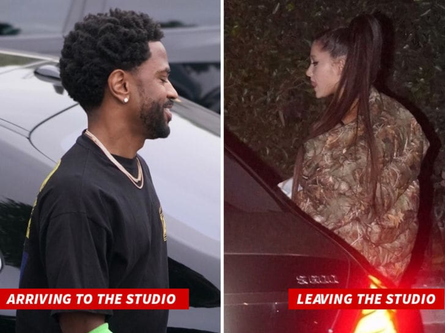 Screenshot_2019-02-28 Ariana Grande and Big Sean Reunite in L A (1)