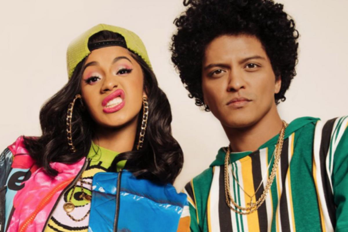 Cardi B y Bruno Mars anunciaron el lanzamiento de una nueva canción juntos