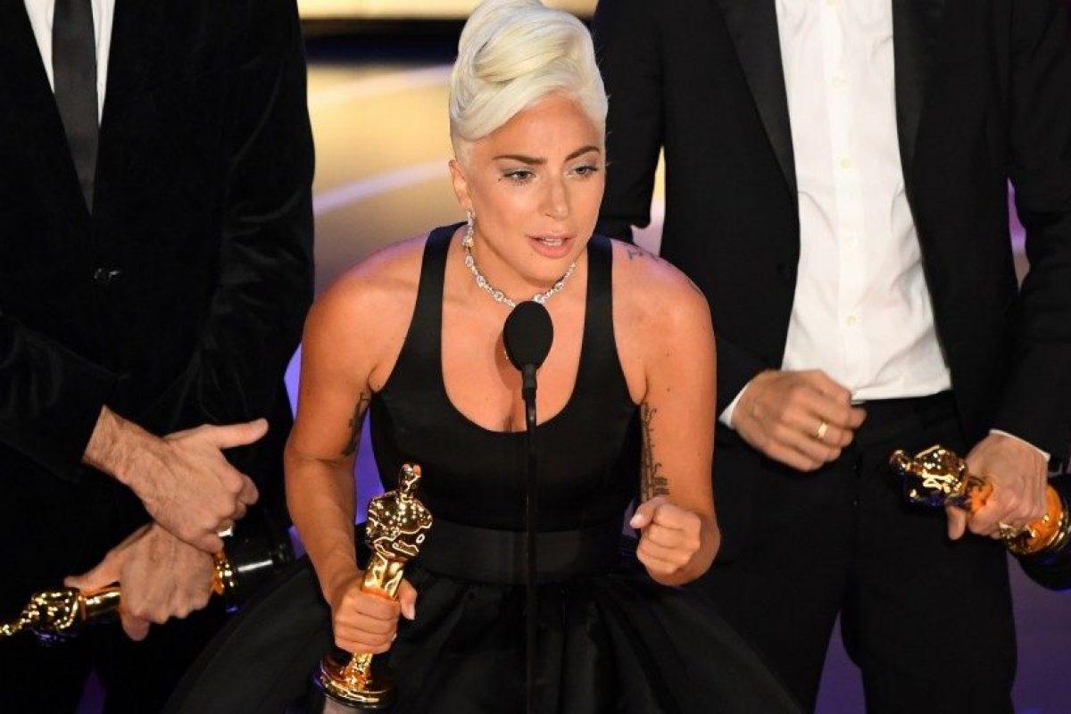 Lady Gaga es la primera mujer en ganar un Oscar, Grammy, BAFTA y Golden Globe el mismo año